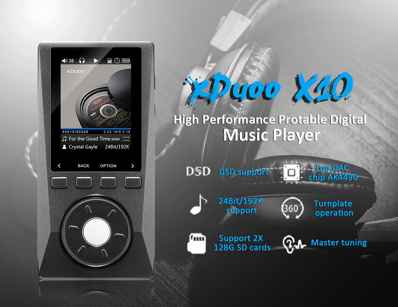 xduoo x10 hi fi loseless hd format ultra low distortion support xduoo x10 hi fi loseless hd format ultra low distortion support dsd 24bit 192k digital music mp3 player lightwish amazon ca electronics