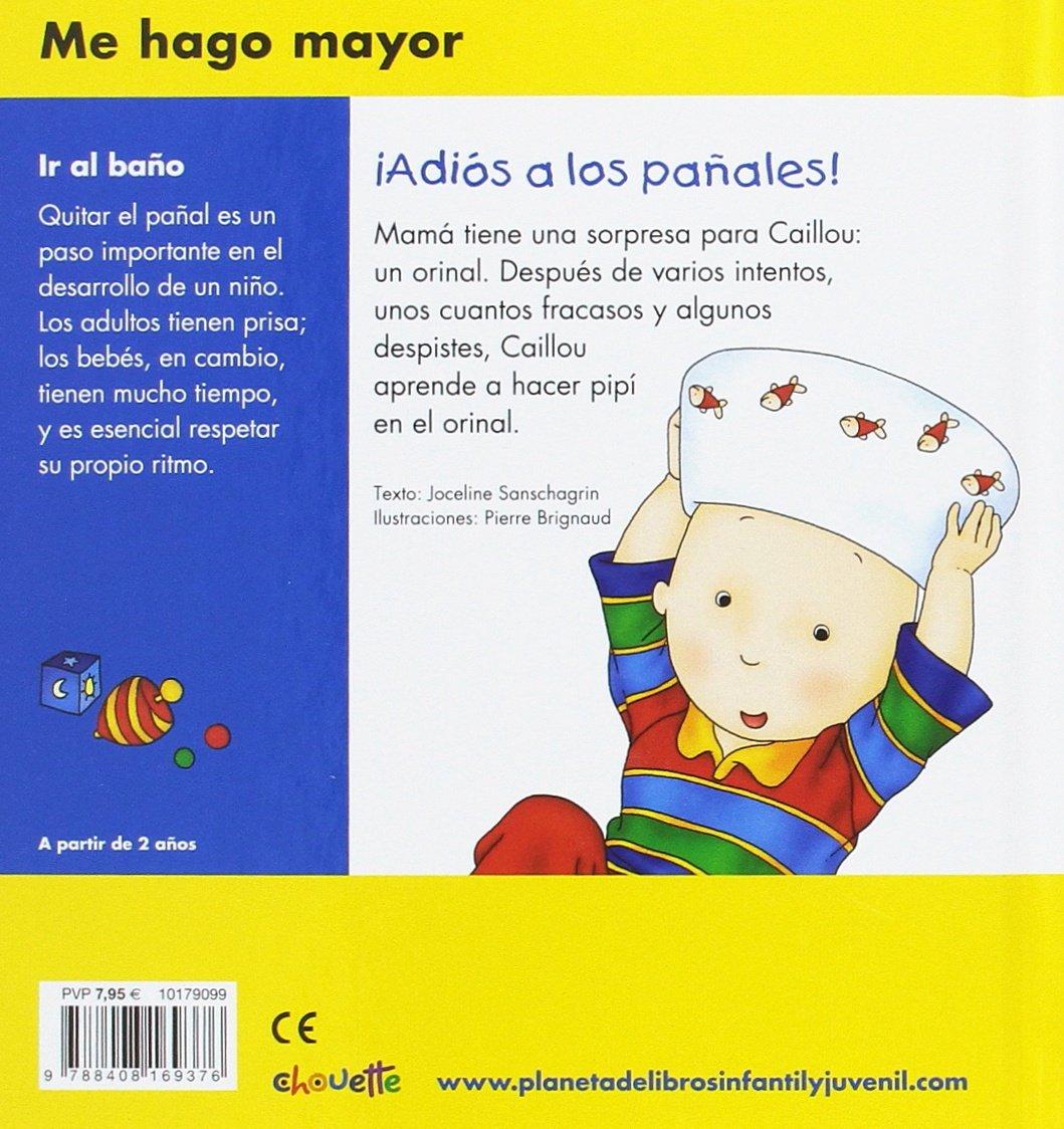 ¡Adiós a los pañales!: Chouette Publishing: 9788408169376: Amazon.com: Books