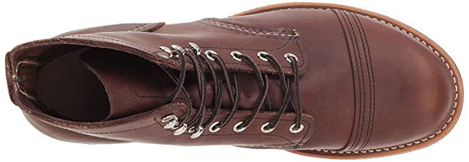 Red Wing Shoes - Zapatos de cordones de cuero para hombre, Marrón (Ambar Harness), 11,5 / 45: Amazon.es: Zapatos y complementos