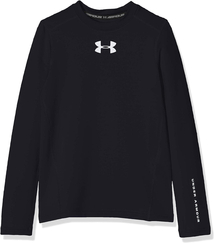 Under Armour Boys ColdGear Long-Sleeve T-Shirt: Clothing