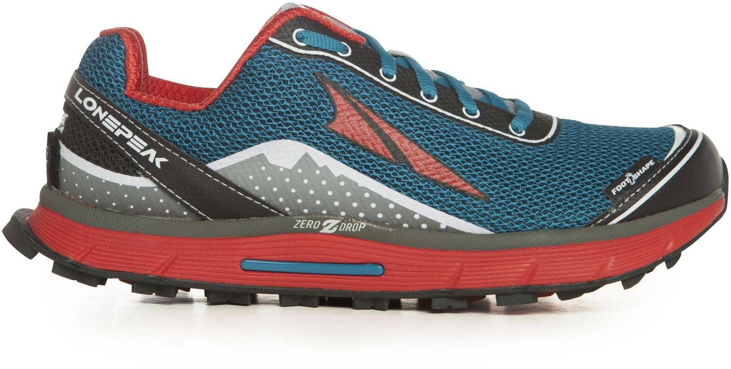 Altra Women's Lone Peak 2.5 Trail Running Shoe, Caribbean Blue, 11 M US by Altra (Image #2)