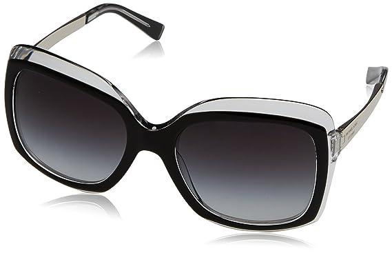 Michael Kors Damen Sonnenbrille MK2007 Key West, Schwarz (Black Crystal 303311), One size (Herstellergröße: 57)