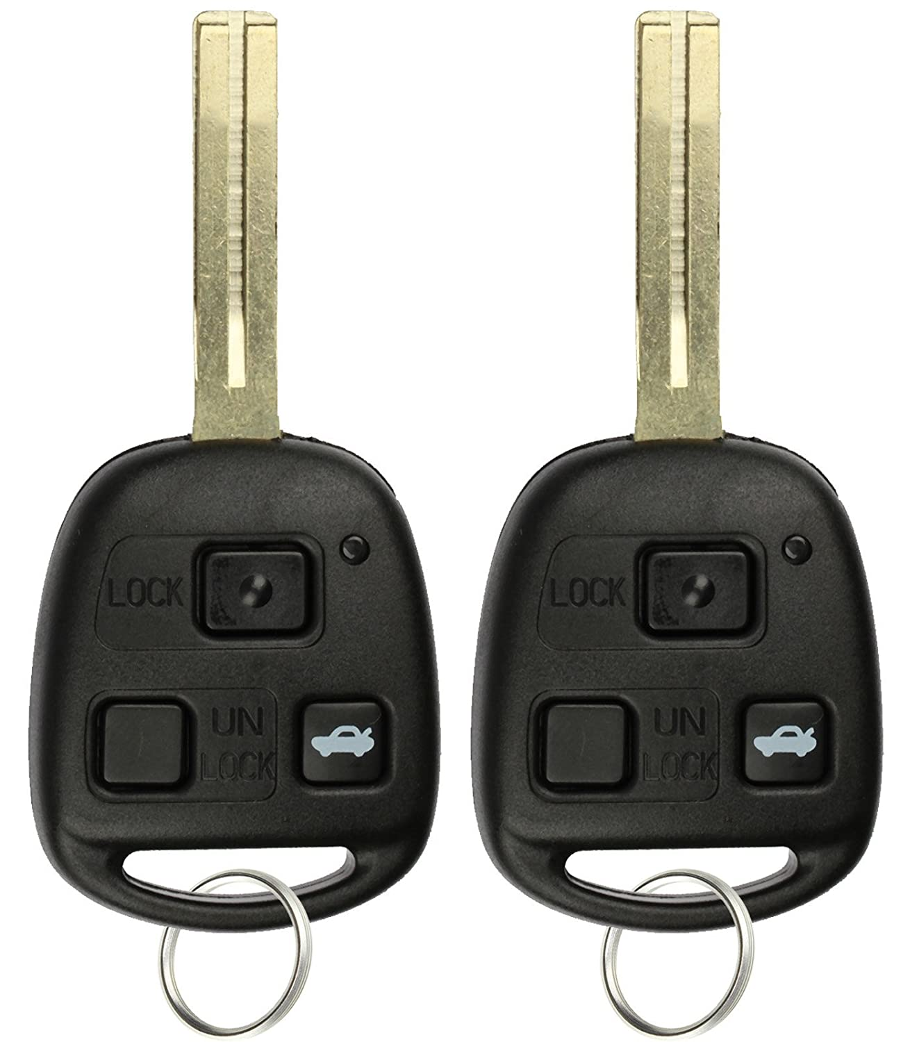 Pack of 2 KPT1720 KeylessOption Keyless Entry Remote Control Car Key Fob Replacement for HYQ1512V
