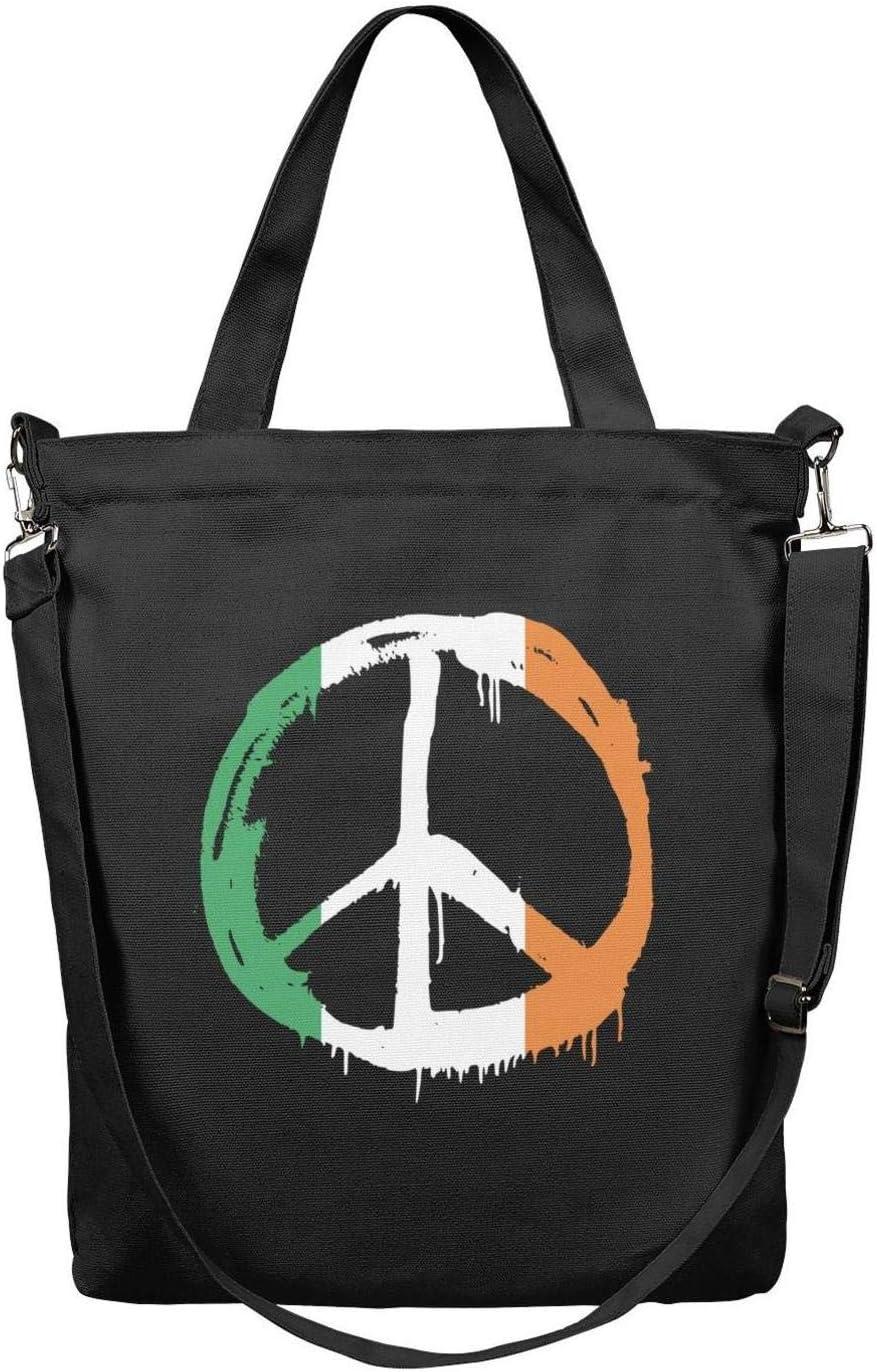 Womens Faith Hope Love Canvas Shoulder Bag Handbags Tote Bag Casual Work Bag