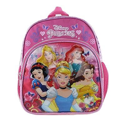 DISNEY PRINCESS - PRINCESS 10 inch Toddler Size Backpack - 16254 | Kids' Backpacks