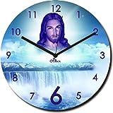 2 O Clock Jesus Christ Printed Analog Wall Clock