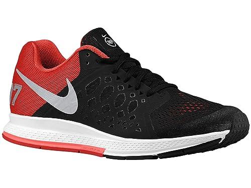 the latest 7729f aa3ff ... inexpensive nike mens air zoom pegasus 31 n7 running shoes black  metallic silver university red 07dfe