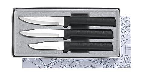 Amazon.com: Rada Cutlery - Juego de cuchillos de pelar (3 ...