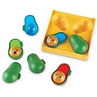 Learning Resources LER6806 Emoji Avocados Set (9 Piece)