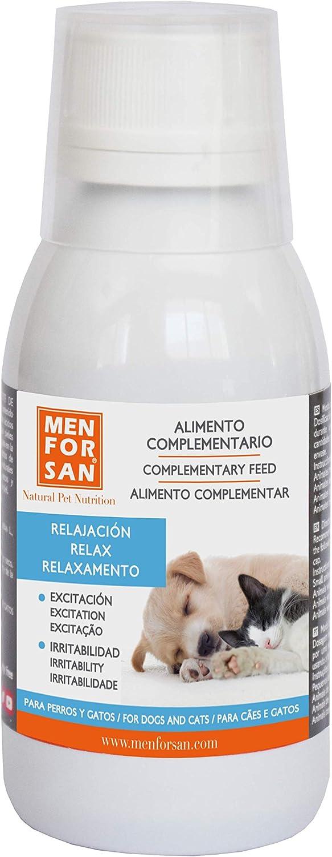 Alimento complementario líquido para perros y gatos relax |Ingredientes naturales | Suplemento para favorecer la relajación del animal | ayuda a afrontar miedos y viajes largos 120ml: Amazon.es: Productos para mascotas