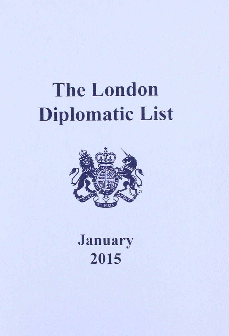 The London diplomatic list: [incorporating directory of international organisations] pdf epub