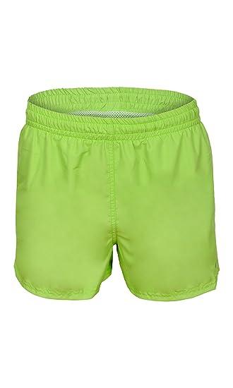Gwinner Herren Badeshorts Badehose Watersport Shorts, grün, S