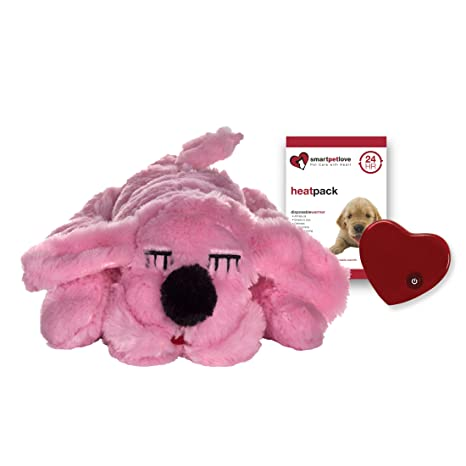 Amazon Com Smartpetlove Snuggle Puppy Behavioral Aid Toy Pink Pet