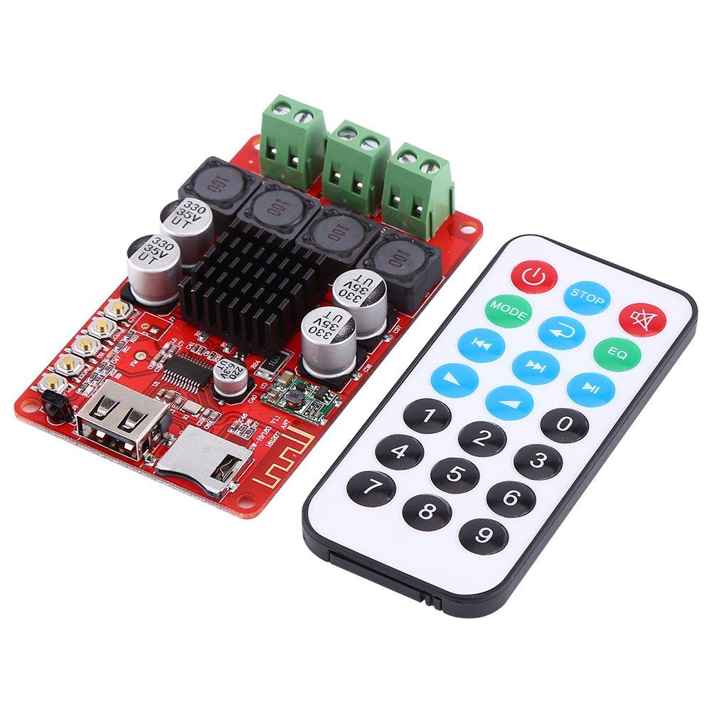 amazoncom 50w 50w portable bluetooth audio receiver amplifier