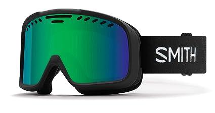 cd644c95f8d Smith Optics Project - Asian Fit Adult Snow Goggles - Black Green Sol-X
