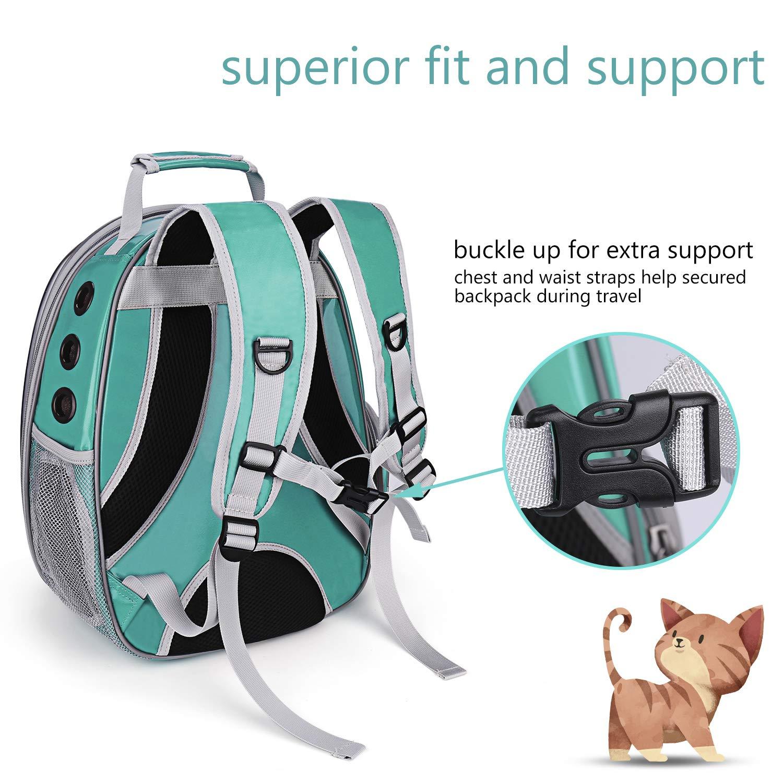Легкий рюкзак для животных, прозрачный