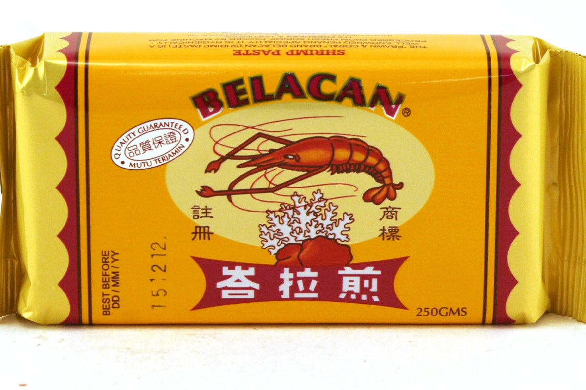 Belacan (Shrimp Paste) - 8.82oz (Pack of 1)