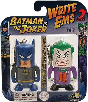 Factory Entertainment DC Escribir EMS (2-Pack), Batman/Joker ...