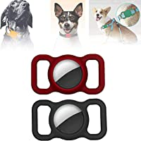 2Pack Multifunction Collar Tracker-Protective Case for Airtag, Pet Tracker for Cats, Dog Collar Tracker, Anti-Scratch…