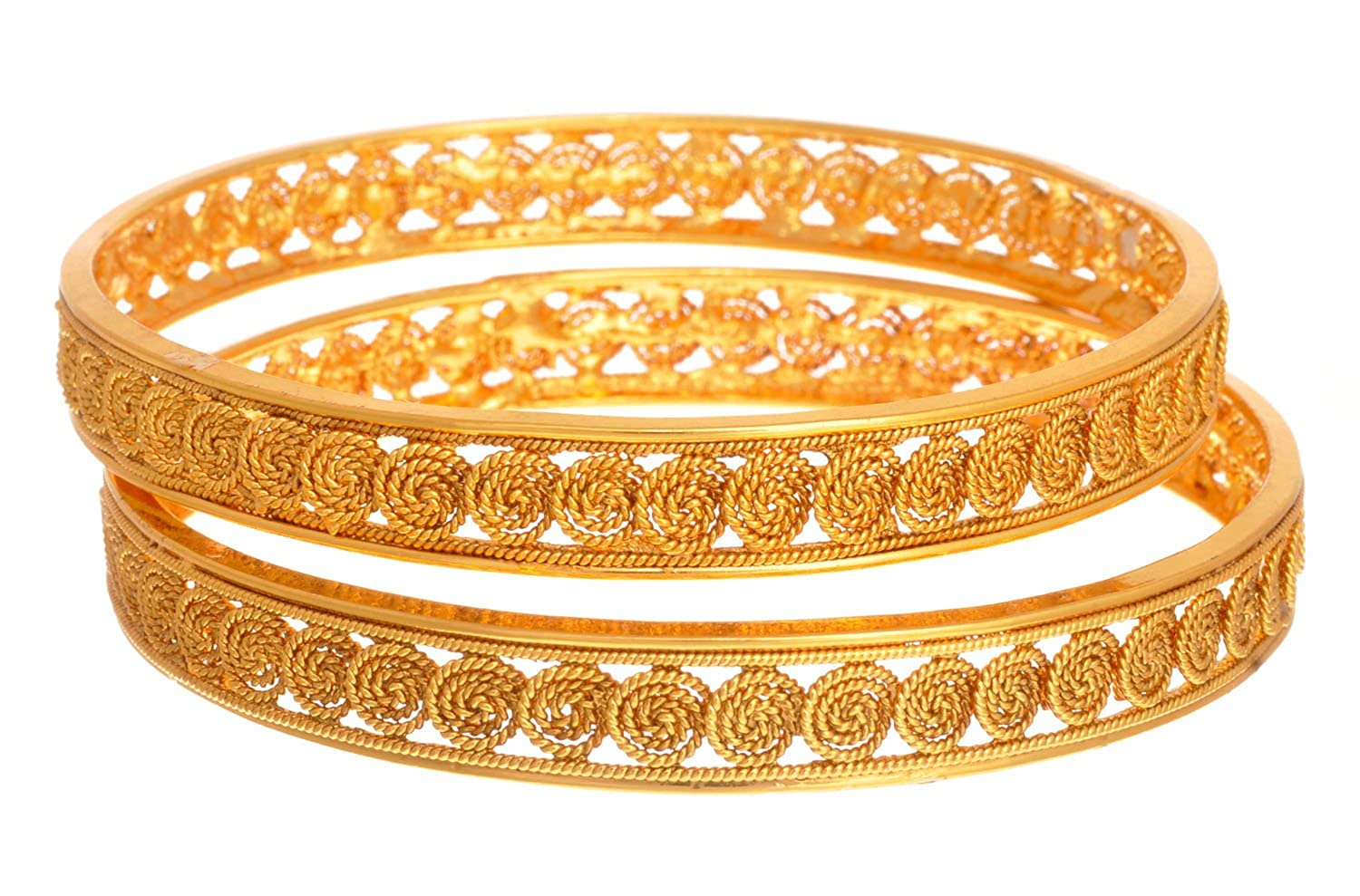 Buy Jfl - Jewellery For Less Traditional Ethnic Stunning Spiral ...