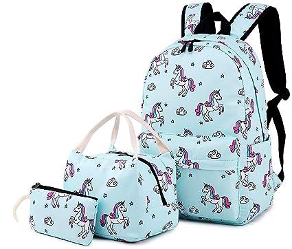 Amazon.com: Mochila escolar para niñas de 15 pulgadas, con ...