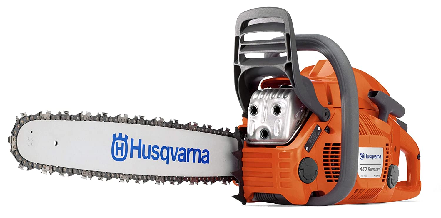 Husqvarna 460 Rancher 24 in. 60.3cc 2-Cycle Gas Chainsaw