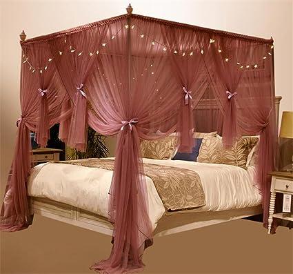 BIO FAMILY Zanzariera, Baldacchino Per Letto Mosquito Nets ...