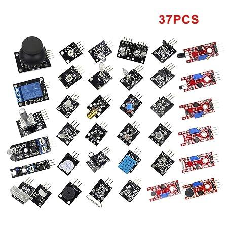 Faderr Módulos De Sensor 37 En 1 Con Tutorial Para Arduino