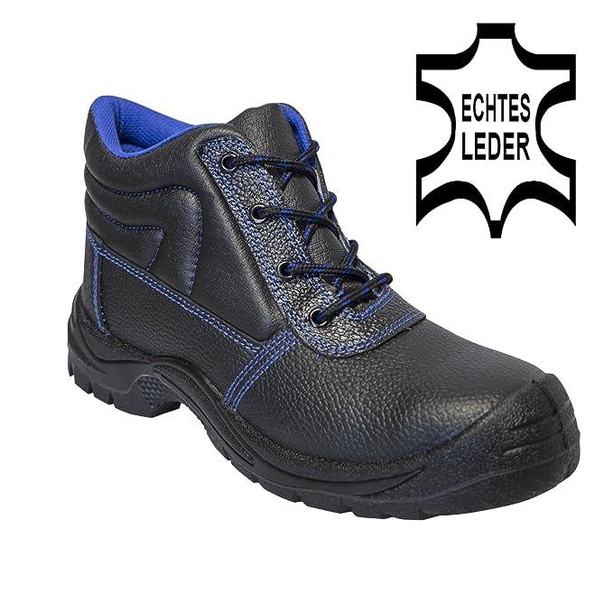 KERMEN - Calzado de seguridad S3 SRC Bota baja ligera Zapatos de trabajo Antideslizante Botines de protección también como zapato: Amazon.es: Ropa y ...