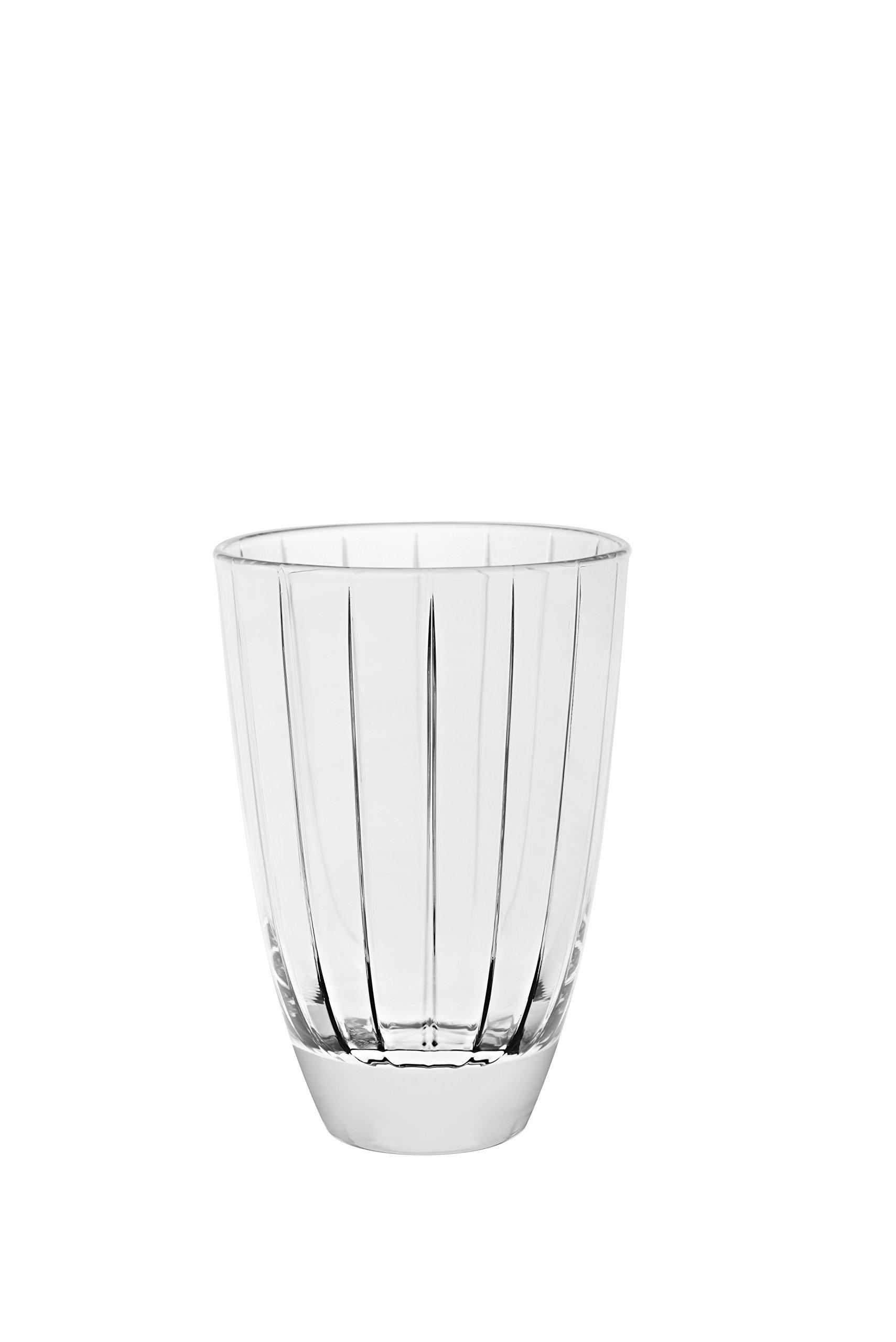 Barski - European Glass - Hiball Tumbler - Artistically Designed - 16.5 oz. - Set of 6 Highball Glasses - Made in Europe