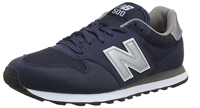 New Balance 500 Core Sneakers Herren Marineblau/Grau (Navy Blue/Grey)