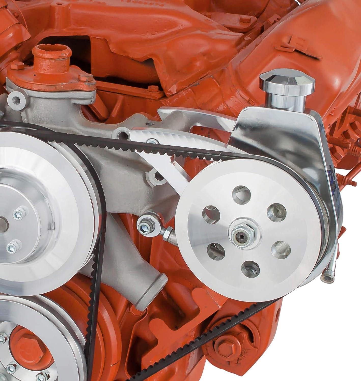 Chrylser BB 440 Aluminum Water Pump Adapter Only Accept Chevy SB Water Pump