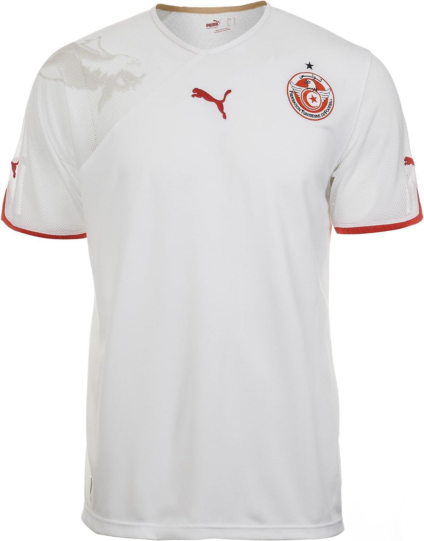 PUMA Camiseta Túnez De Mundial 2010 Hombre - Blanco, 100 ...