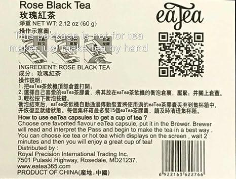 ca530d75484 Amazon.com : EATEA ORGANIC ROSE BLACK TEA : Grocery & Gourmet Food