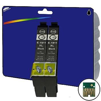 2 negro XL Cartuchos de tinta NO OEM Compatible para Epson ...