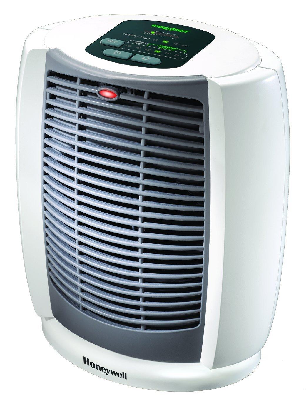 Honeywell HZ-7304U Deluxe EnergySmart Cool Touch Heater - White