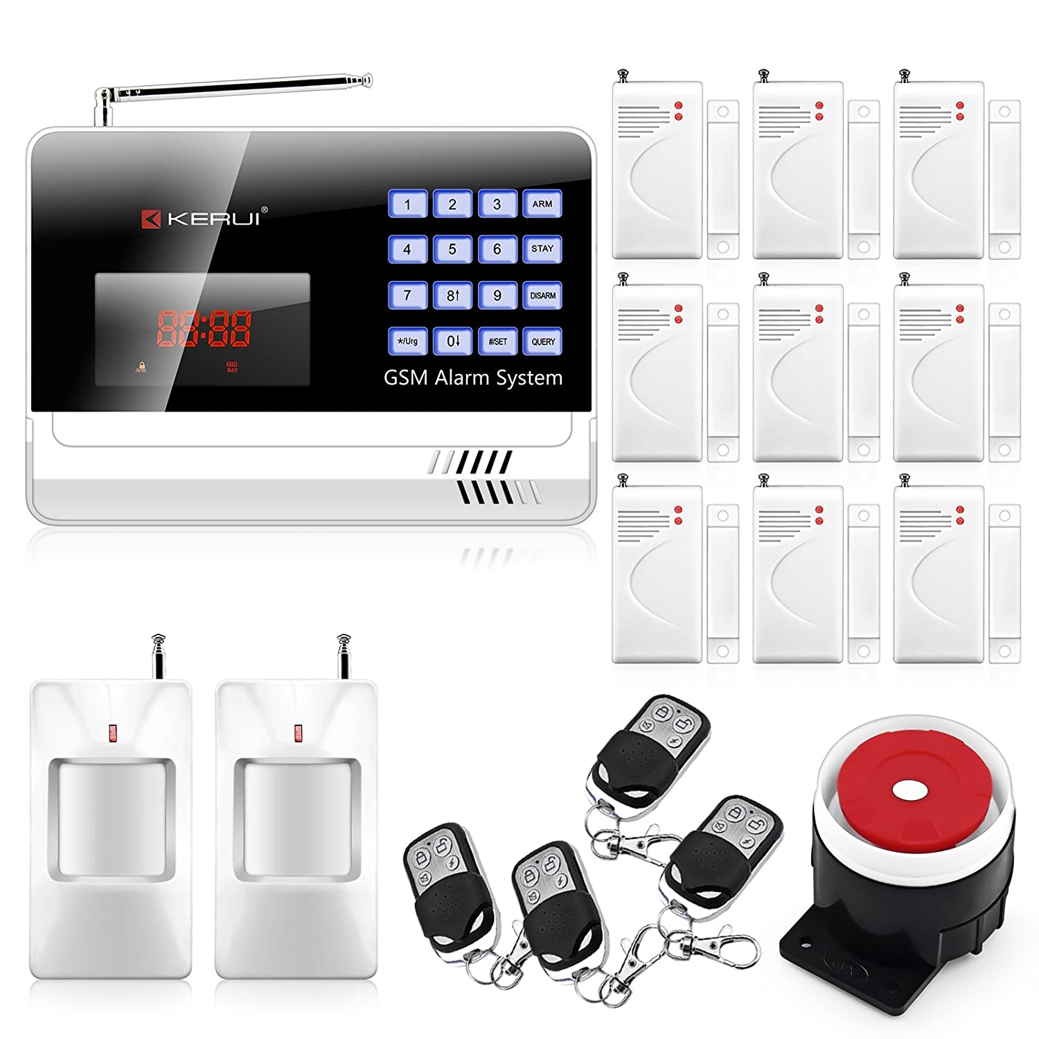 top 20 best home alarm security systems reviews 2016 2017
