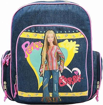 "Barbie Backpack 16/"" Large School Girls Book Bag  Pink Jewels"