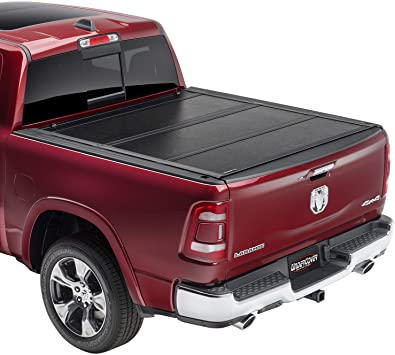 Amazon Com Undercover Flex Hard Folding Truck Bed Tonneau Cover Fx31008 Fits 2019 20 New Body Style Dodge Ram 1500 Does Not Fit With Multi Function Split Tailgate 5 7 Bed Automotive