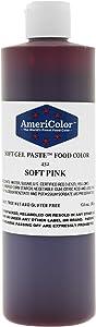 SOFT PINK 13.5 Ounce Soft Gel Paste Food Color