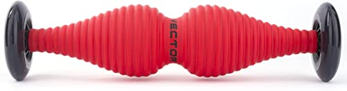 WODFitters T-Pin Double Bubble Foam Roller for Trigger Points – More Effective Than Other Foam Rollers Lacrosse Balls for Myofascial Release, Deep Tissue Self Massage