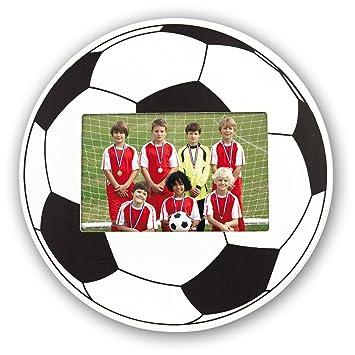 ZEP Football - Portafotos con forma de balón para foto 10x15: Amazon.es: Hogar