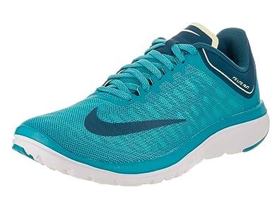 Nike Womens WMNS FS LITE Run 4 Chlorine Blue Industrial Blue Size 5.5 2197a662b