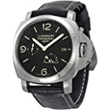 Panerai Men's PAM00321 Luminor 1950 Black Dial Watch
