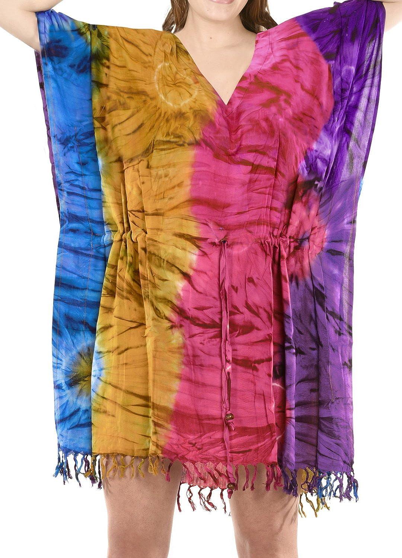 L NEU leicht transparentes Strandkleid Tunika Solar Gr S M XL