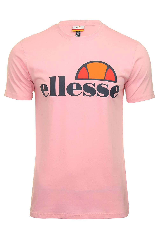 78e1d94c83 Amazon.com: Mens Ellesse Light Pink Prado T Shirt - XXL: Clothing