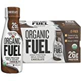 Organic Valley, Organic Fuel, Organic Milk Protein Shake, Chocolate, 11 Ounces (Pack of 12)