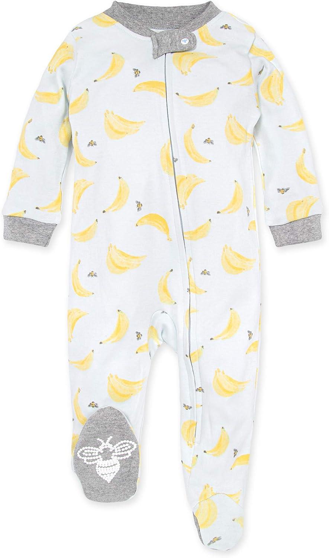 12 Months Burts Bees Baby Boys Pajamas Tee and Pant 2-Piece PJ Set 100/% Organic Cotton Baby Penquins