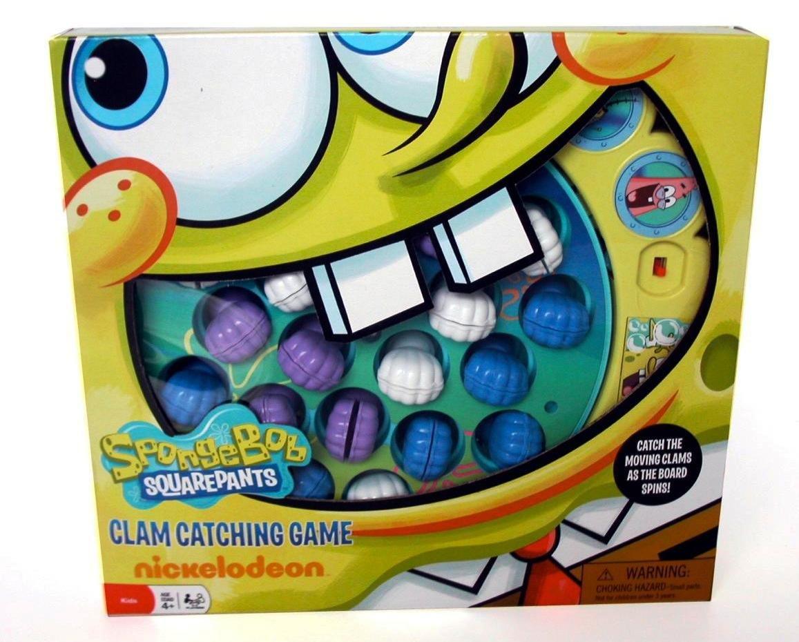 Sponge Bob Squarepants Clam Catching Game
