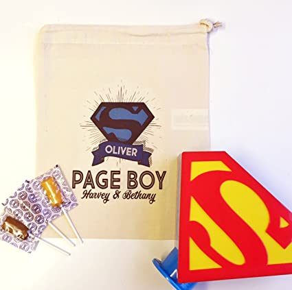 Personalizable Paginas Boy Boda Regalo Superman Caja De Dinero Y